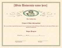 2 Best Degree Certificate Templates