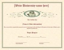 2 Best Degree Certificate Templates