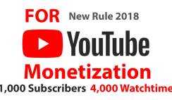 Earn Money: YouTube Policy 2018