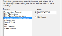 Mac Address and physical address