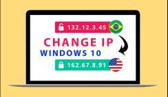 Change IP Address in Windows 10