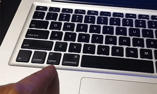how to remove mac keys
