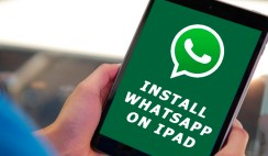install WhatsApp on iPad