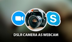 How to Use DSLR Camera as a Webcam
