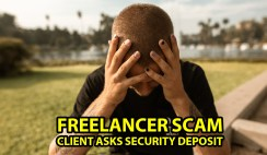 Refundable Security Deposit fee in Freelancer