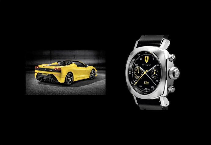 Ferrari Scuderia Spider and Wristwatch