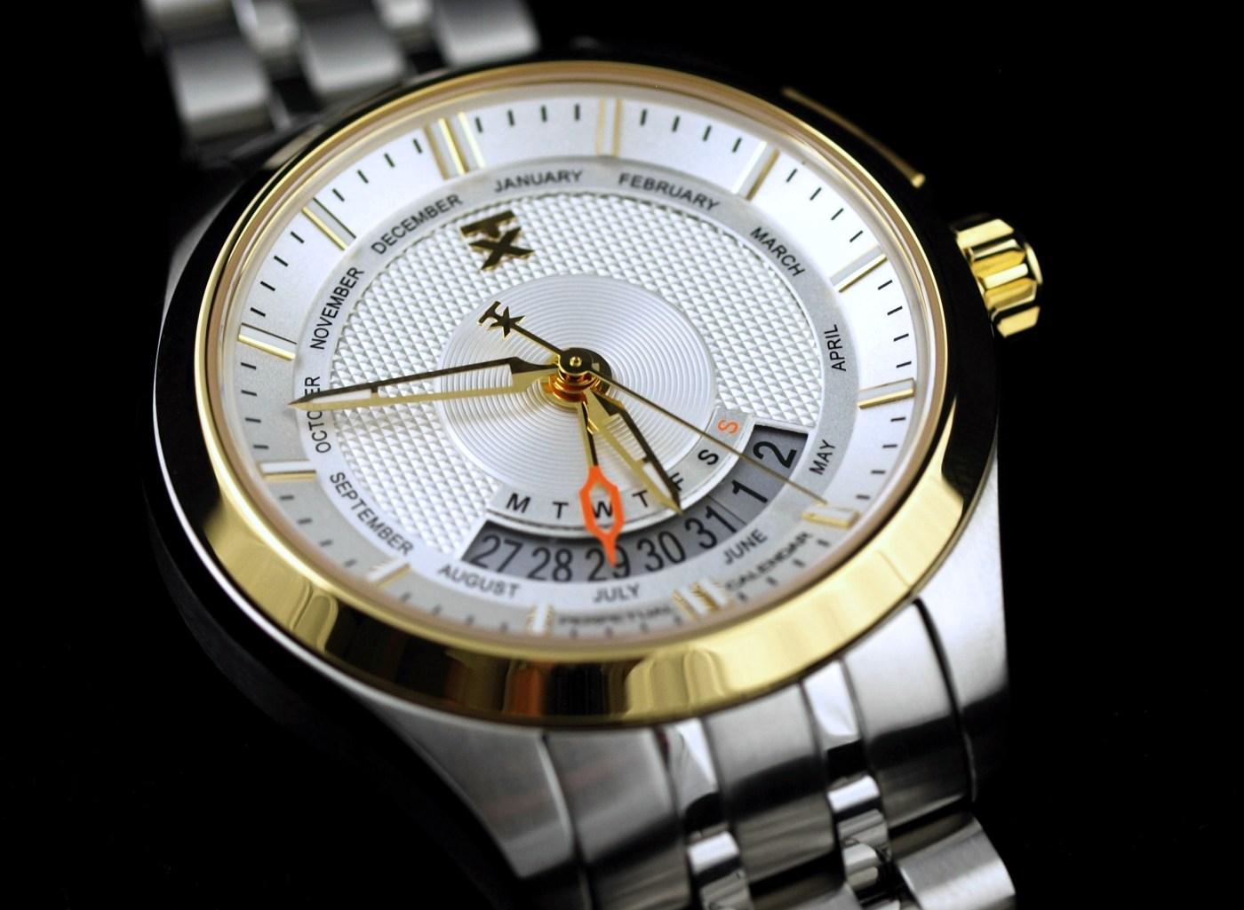 TX 400 Series Watch Perpetual Weekly Calendar