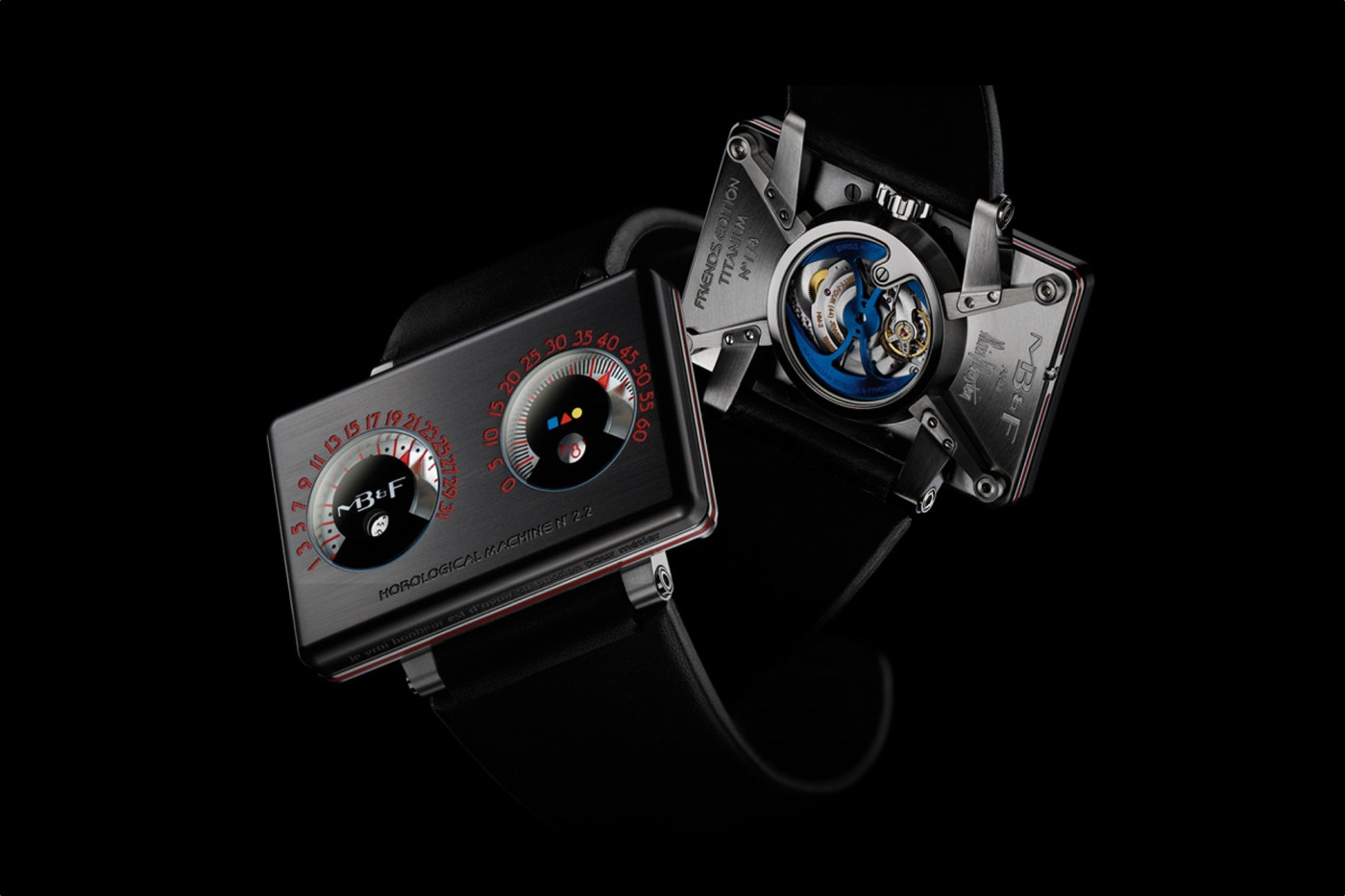 MB&F HM2.2 Black Box by Alain Silberstein