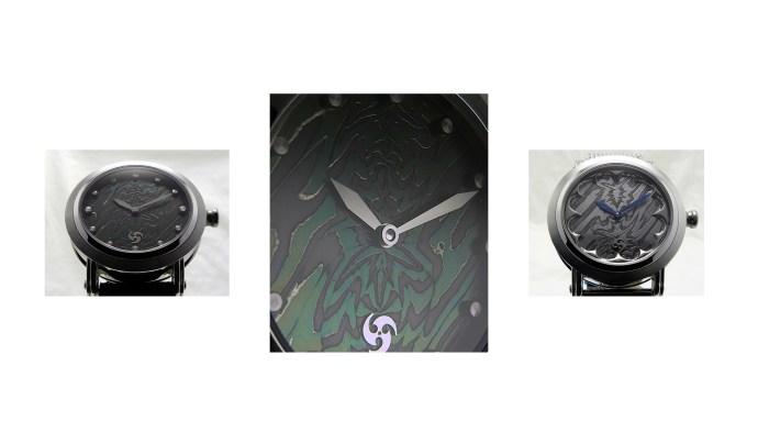 GUSTAFSSON & SJÖGREN Damascus Steel Watches
