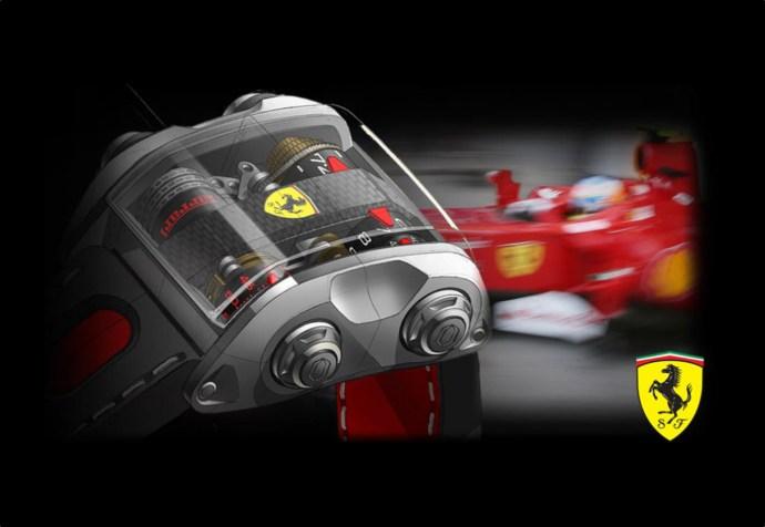 Cabestan Scuderia Ferrari One