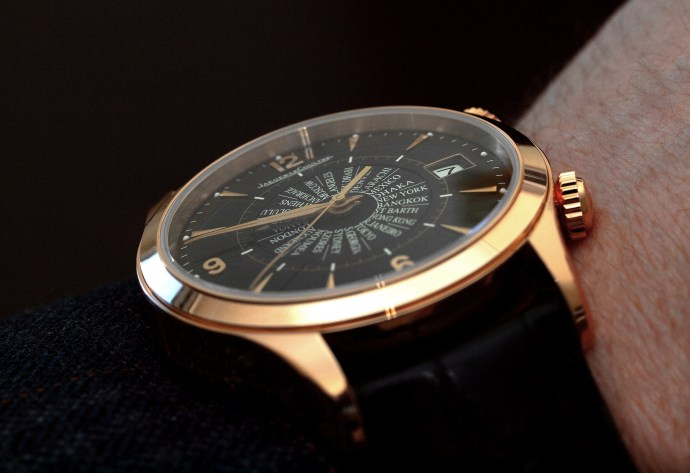 Jaeger-LeCoultre Master Memovox International wristshot