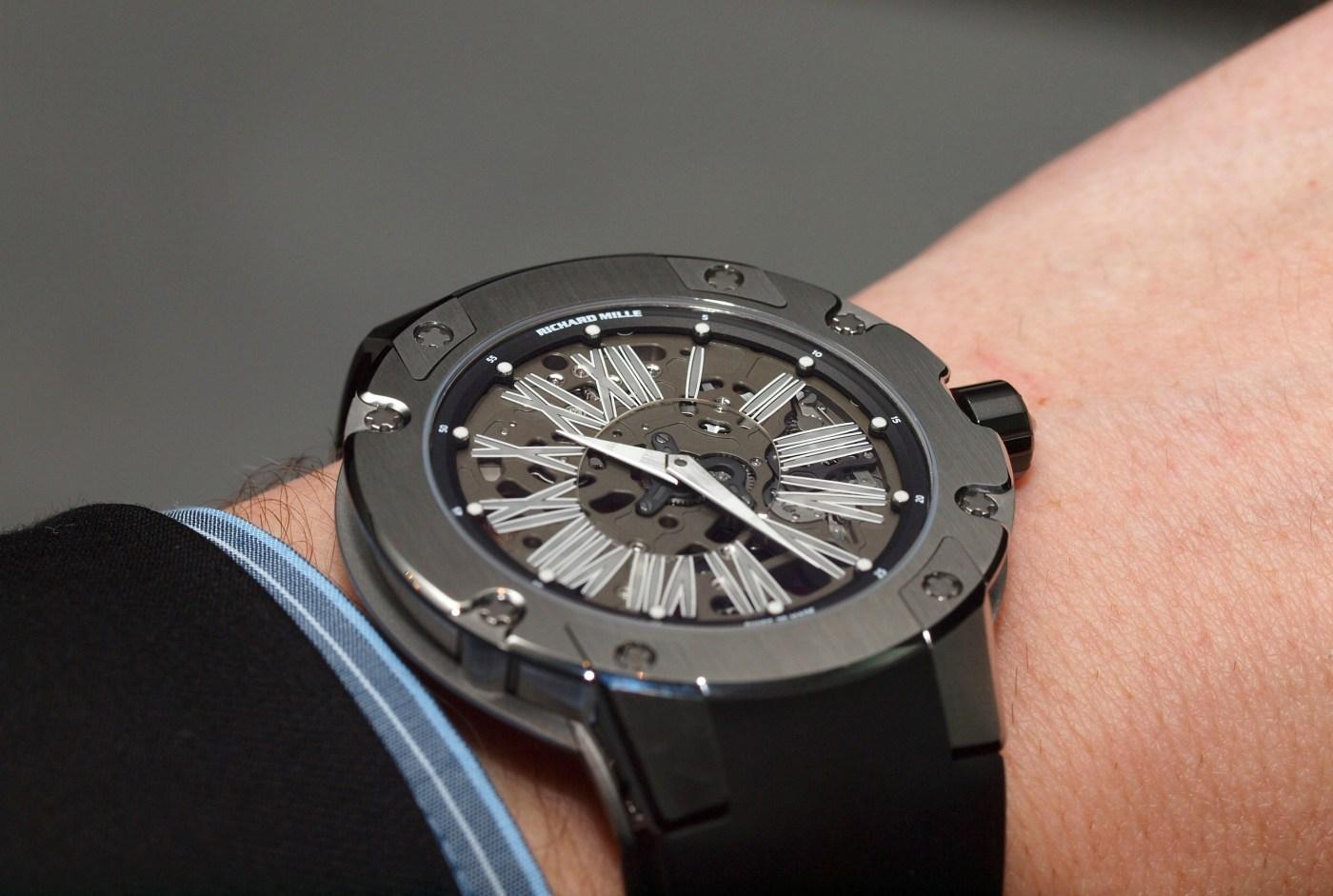 Richard Mille Extra Flat Automatic RM 033 wristshot