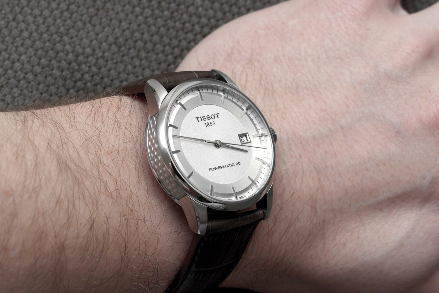 Tissot Powermatic 80 wristshot