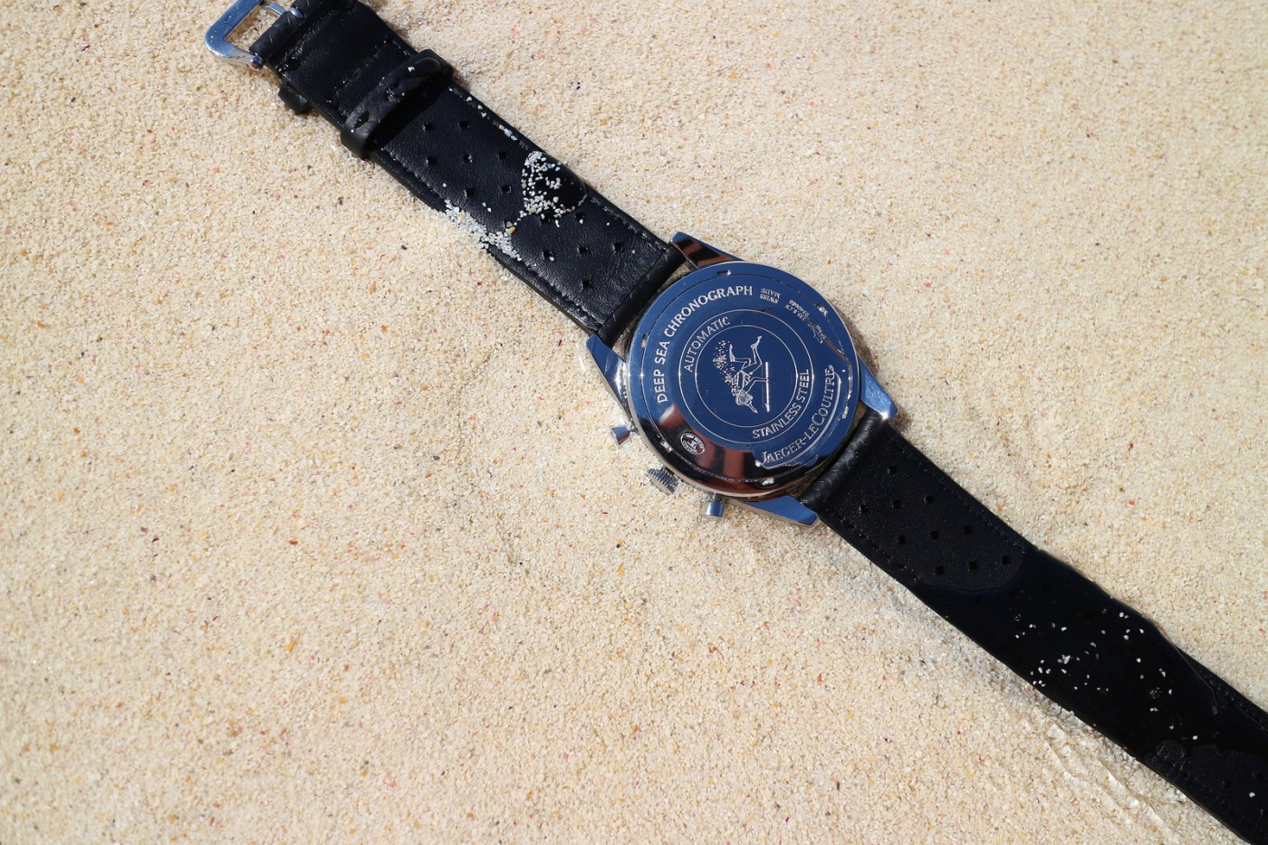 Jaeger-LeCoultre Deep Sea Chronograph caseback