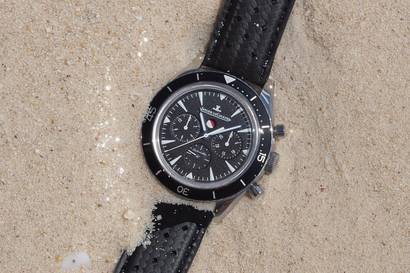 Jaeger-LeCoultre Deep Sea Chronograph buried