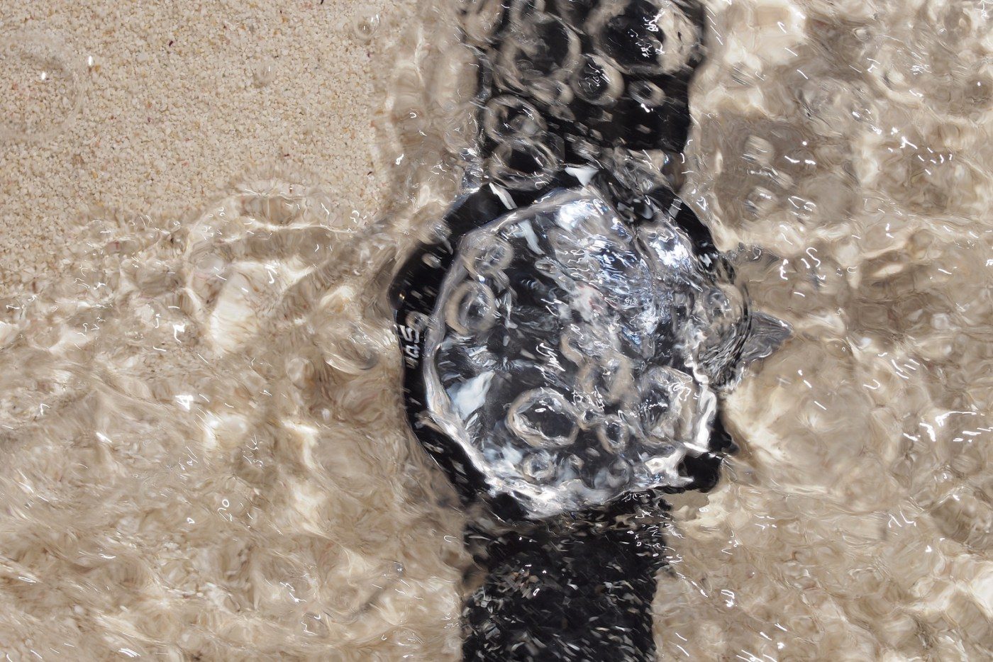 Jaeger-LeCoultre Deep Sea Chronograph underwater