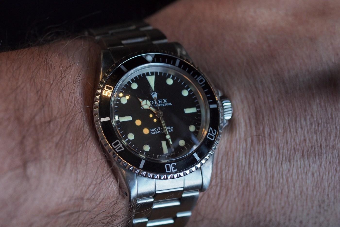 Rolex 5513 wristshot