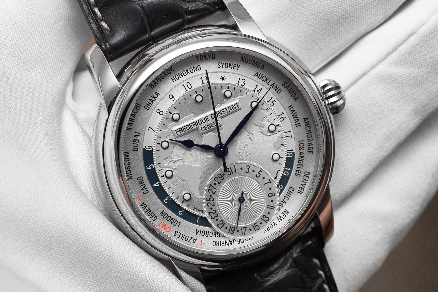 Frederique Constant Classics Manufacture Worldtimer Limited Edition