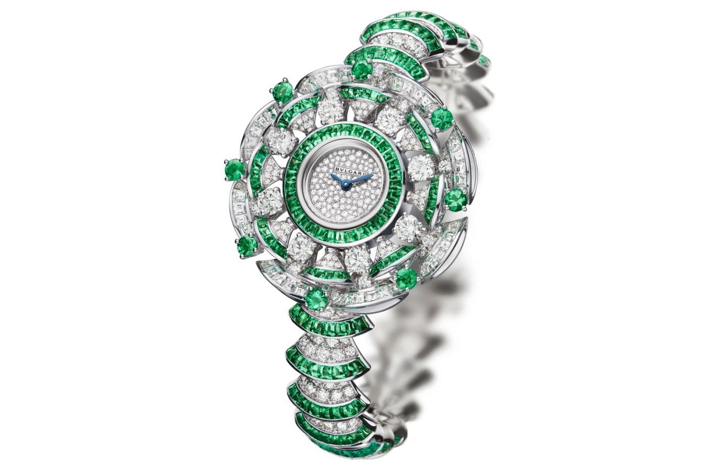 Bulgari Diva High Jewellery Emeralds