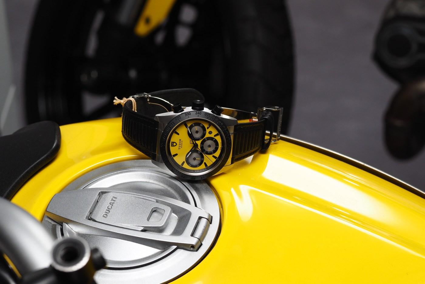 Tudor Fastrider Chrono on Ducati