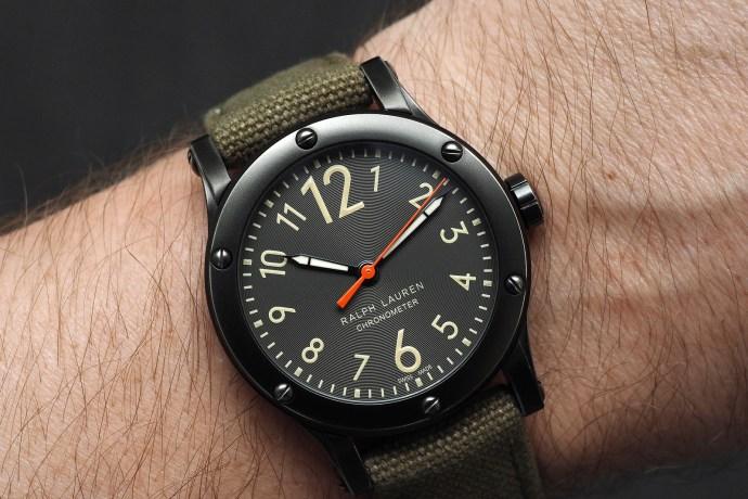 Ralph Lauren RL67 Safari Chronometer wristshot