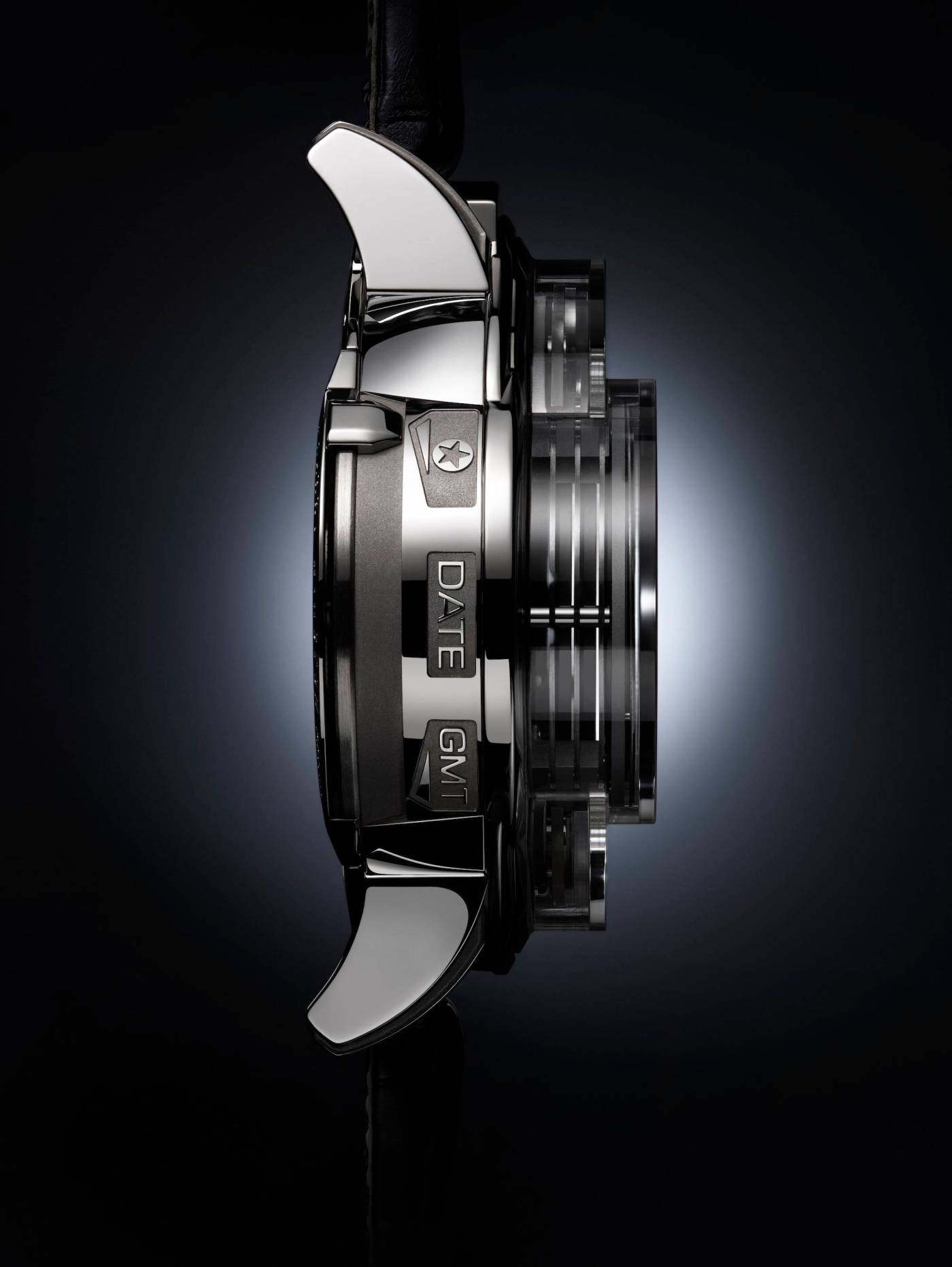 Harry Winston Opus 14 side view