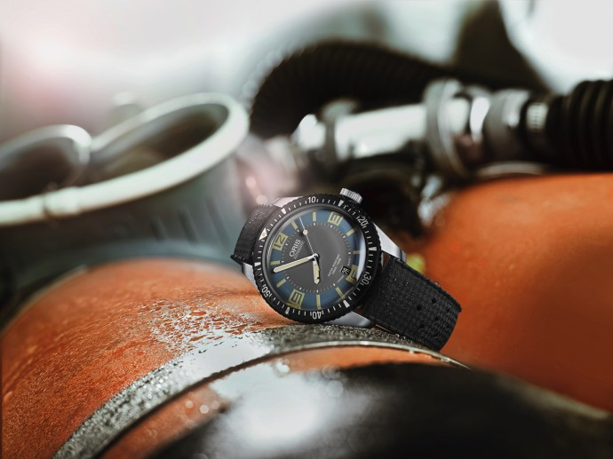 Oris Sixty-Five Diver blue