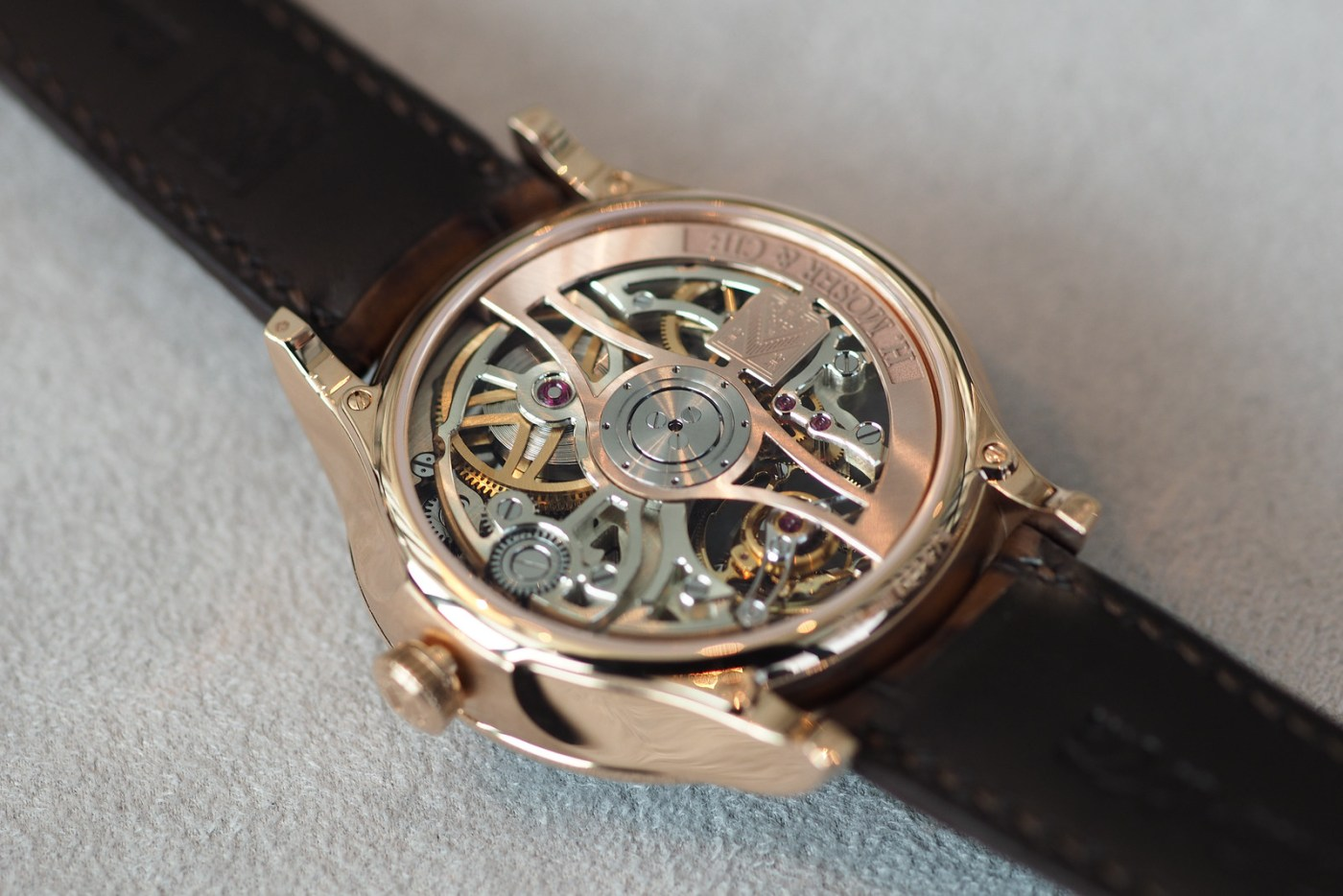 Moser Venturer Tourbillon Skeleton