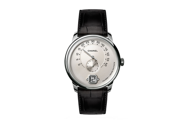 Chanel Monsieur de Chanel in white gold