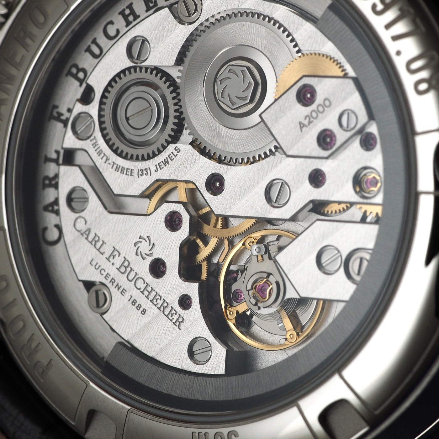 Carl F Bucherer Manero Peripheral caliber A2050