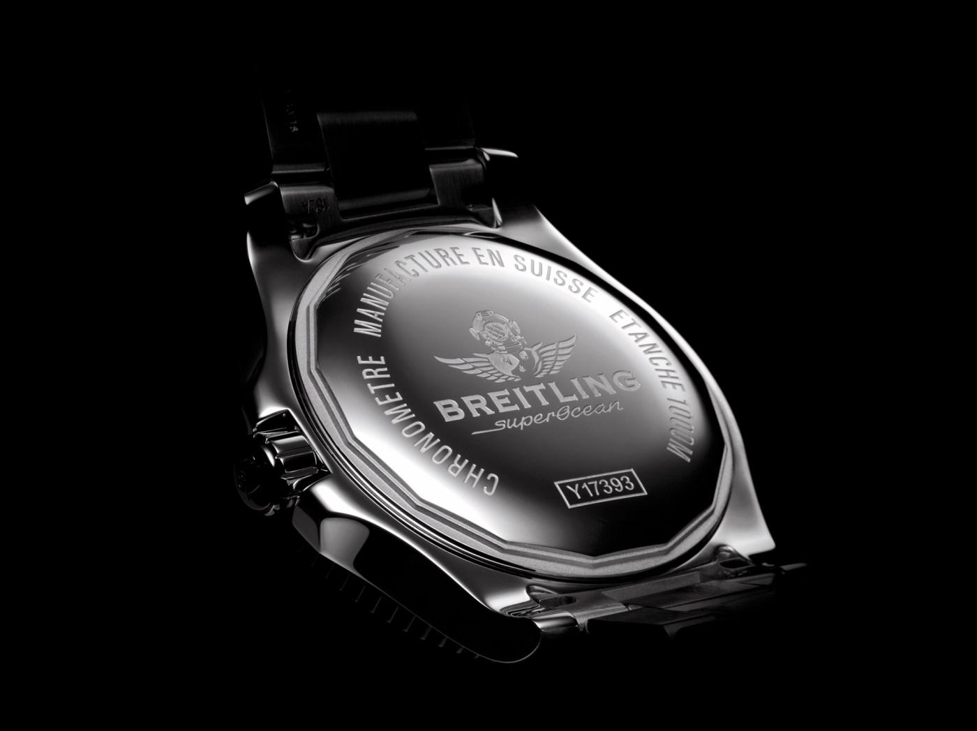 Breitling Superocean 44 Special caseback