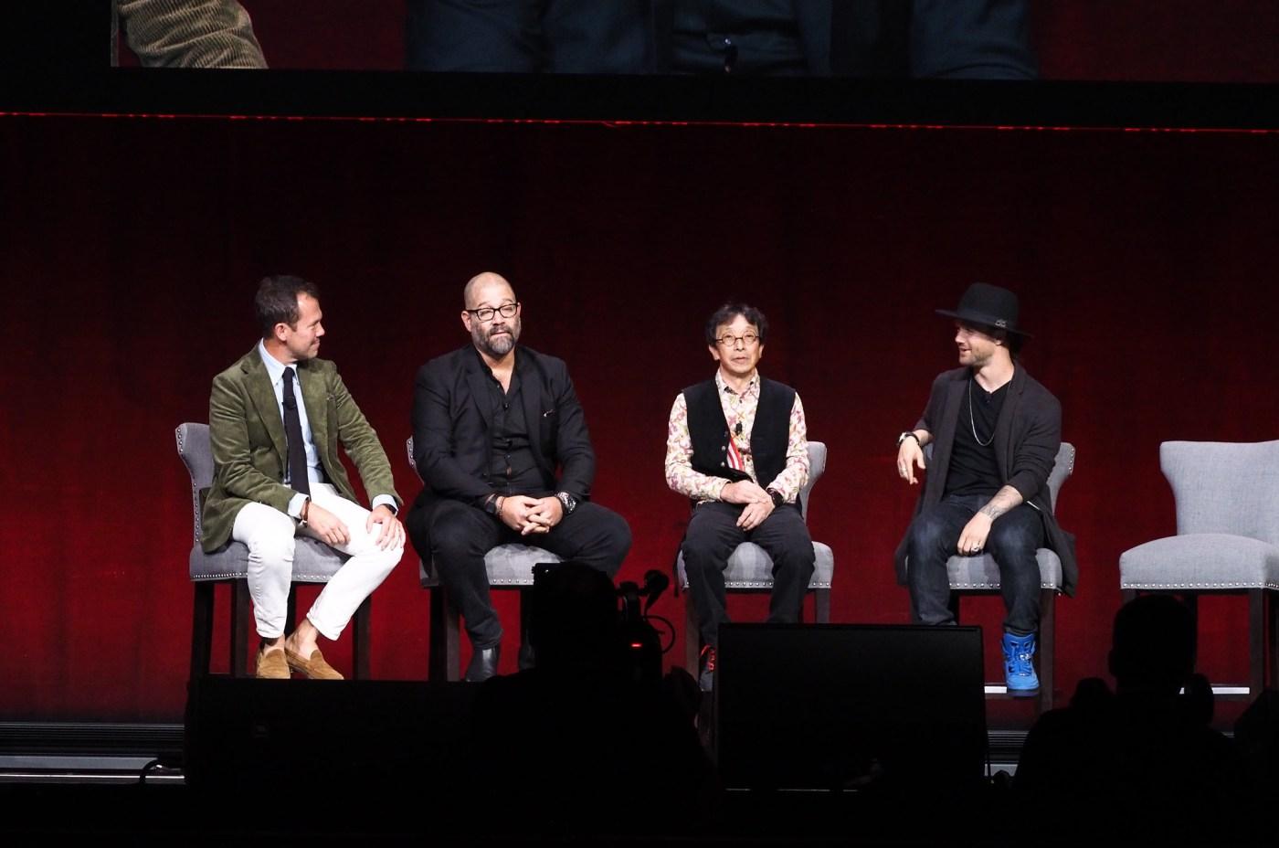 Left to right: Matt Hranek, Adam Craniotes, Kikuo Ibe, Louie Vito