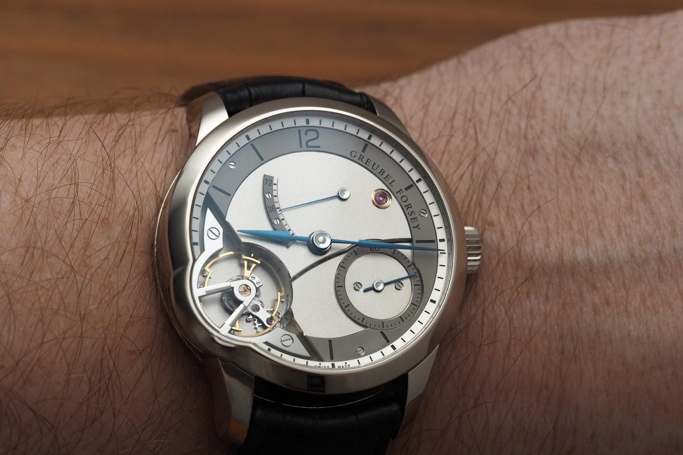 Greubel Forsey Balancier wristshot