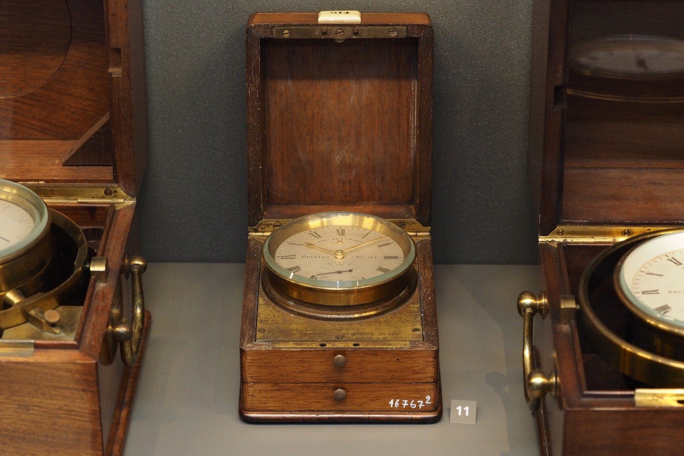 Breguet Marine Chronometer seen in Breguet Museum of Paris