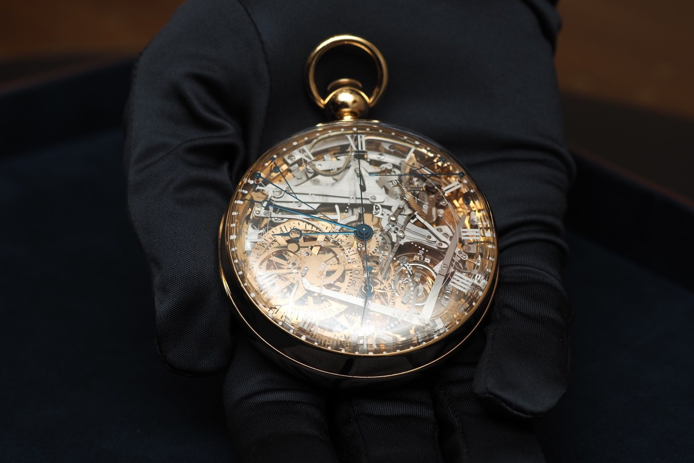 One-of-a-kind Marie Antoinette Number 1160 pocket watch (the only recreation of the original)