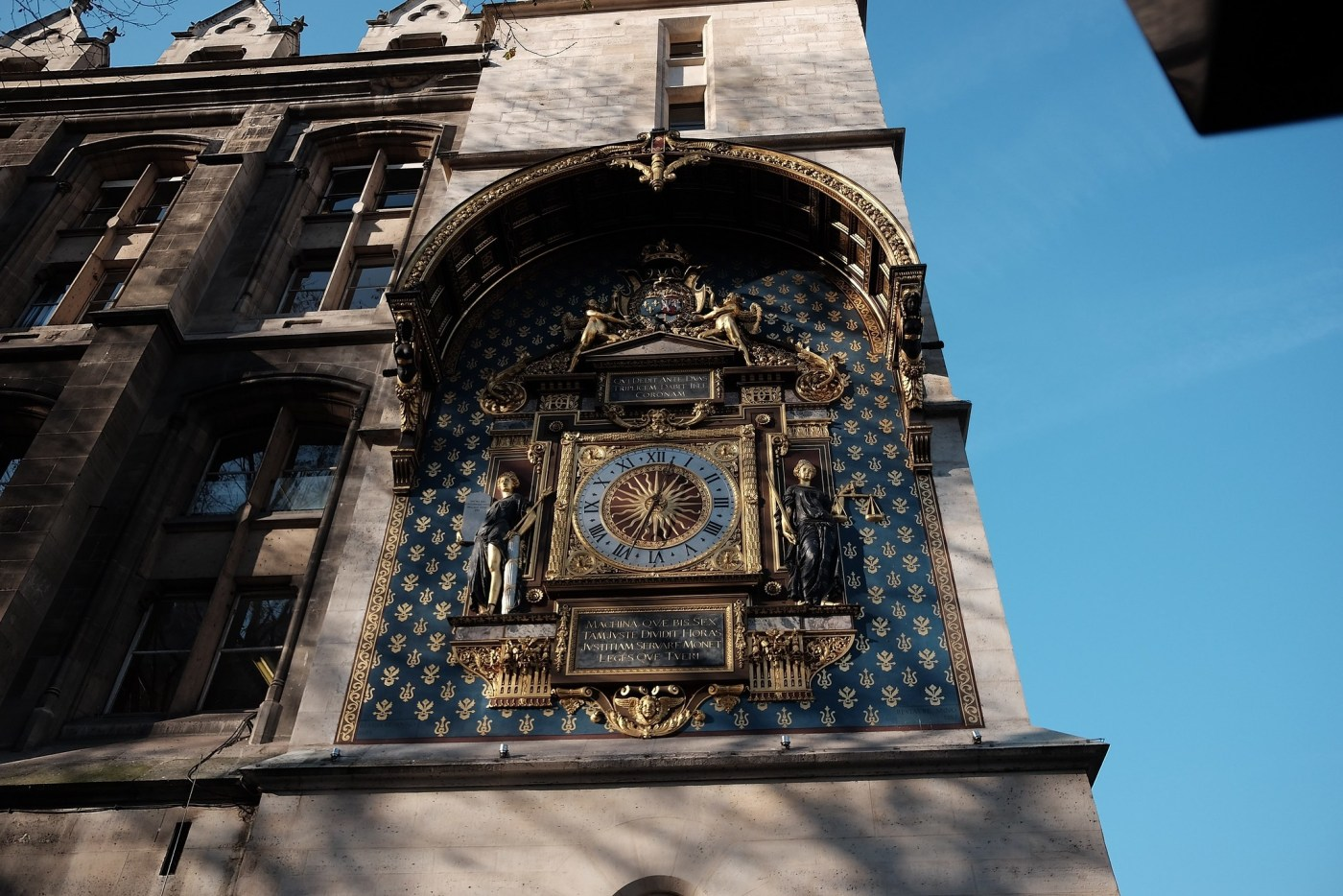 A magnificent clock just off the Qvai De L'Horloge, where Breguet started his first workshop