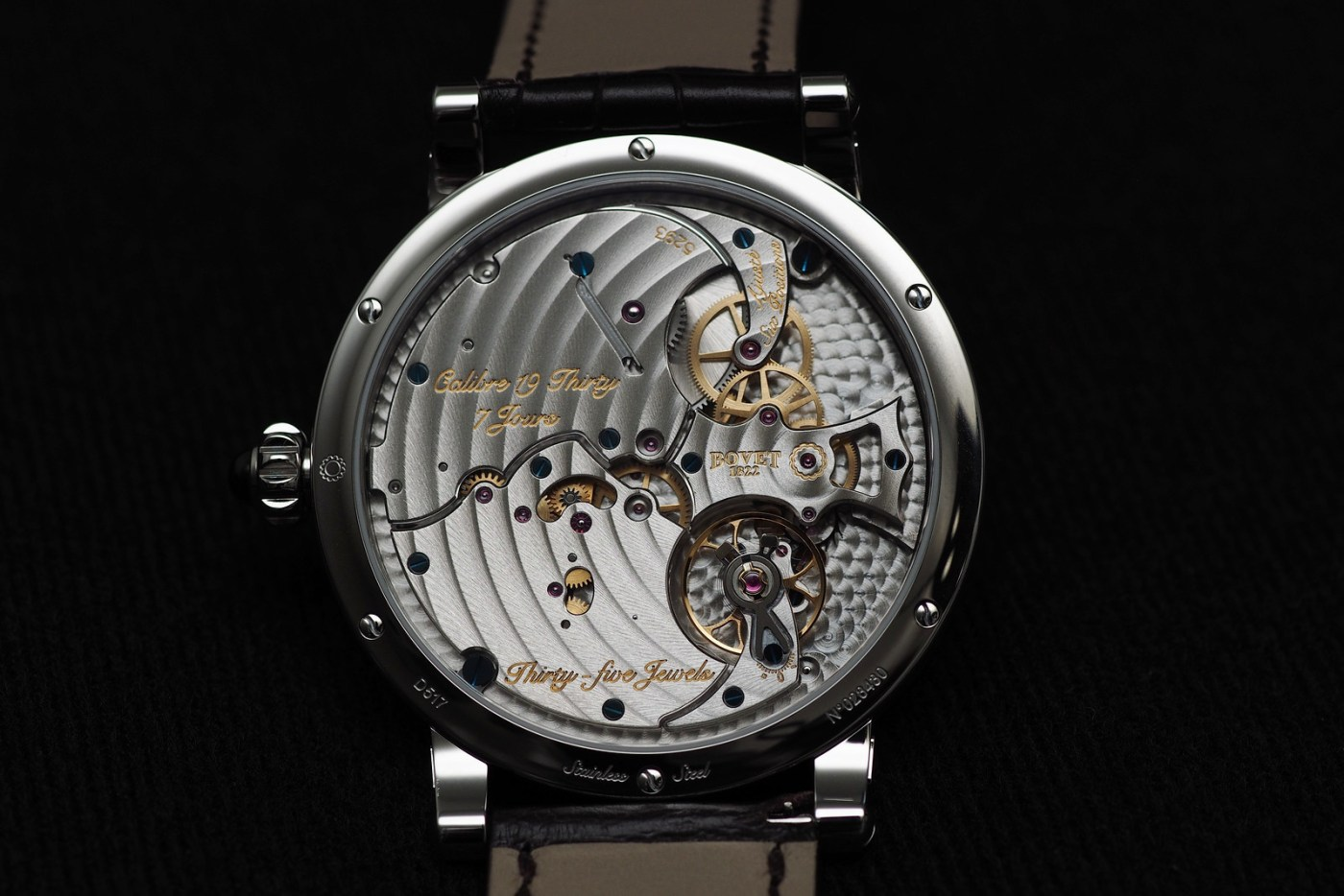 Bovet Dimier 19Thirty movement