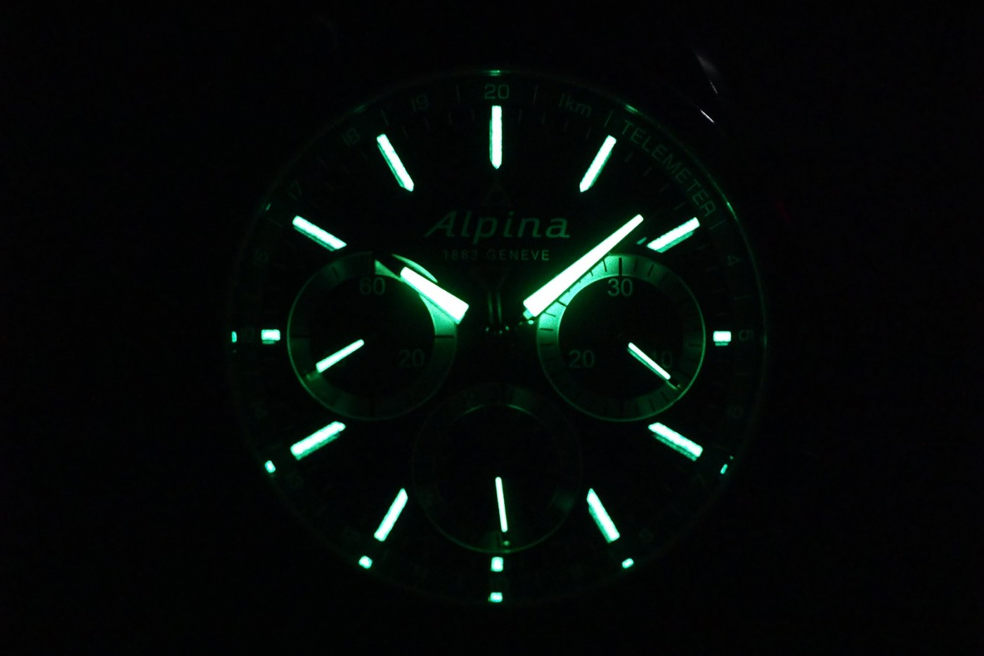 Alpina Alpiner 4 Chronoflyback lumeshot