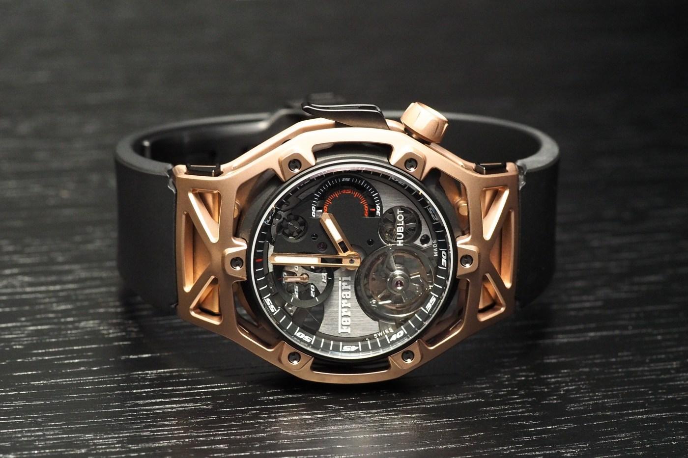 Techframe Ferrari Tourbillon Chronograph King Gold