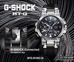 G-Shock MTG ad