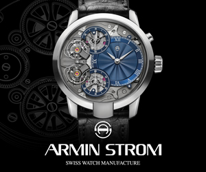 Armin Strom Mirrored Force Resonance ad