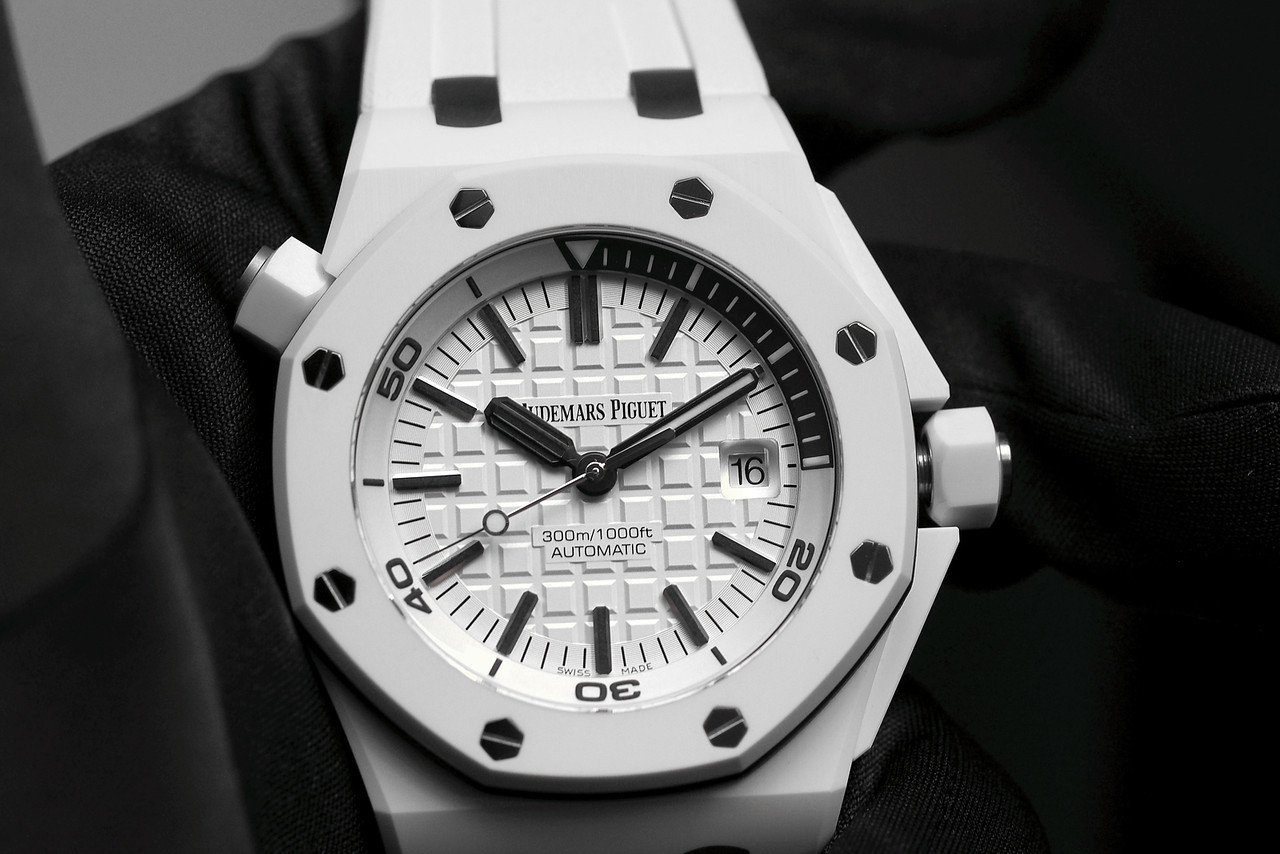 Audemars Piguet White Ceramic Diver