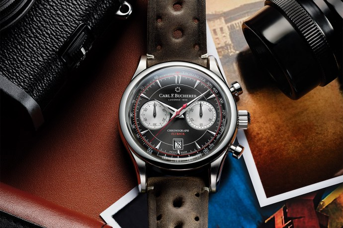 Carl F Bucherer Manero Flyback Retro