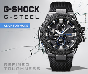 Casio G-Steel Carbon G-Shock