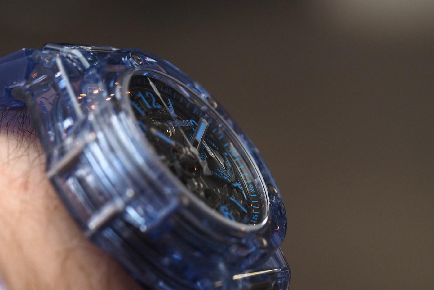 Hublot Unico Blue Sapphire
