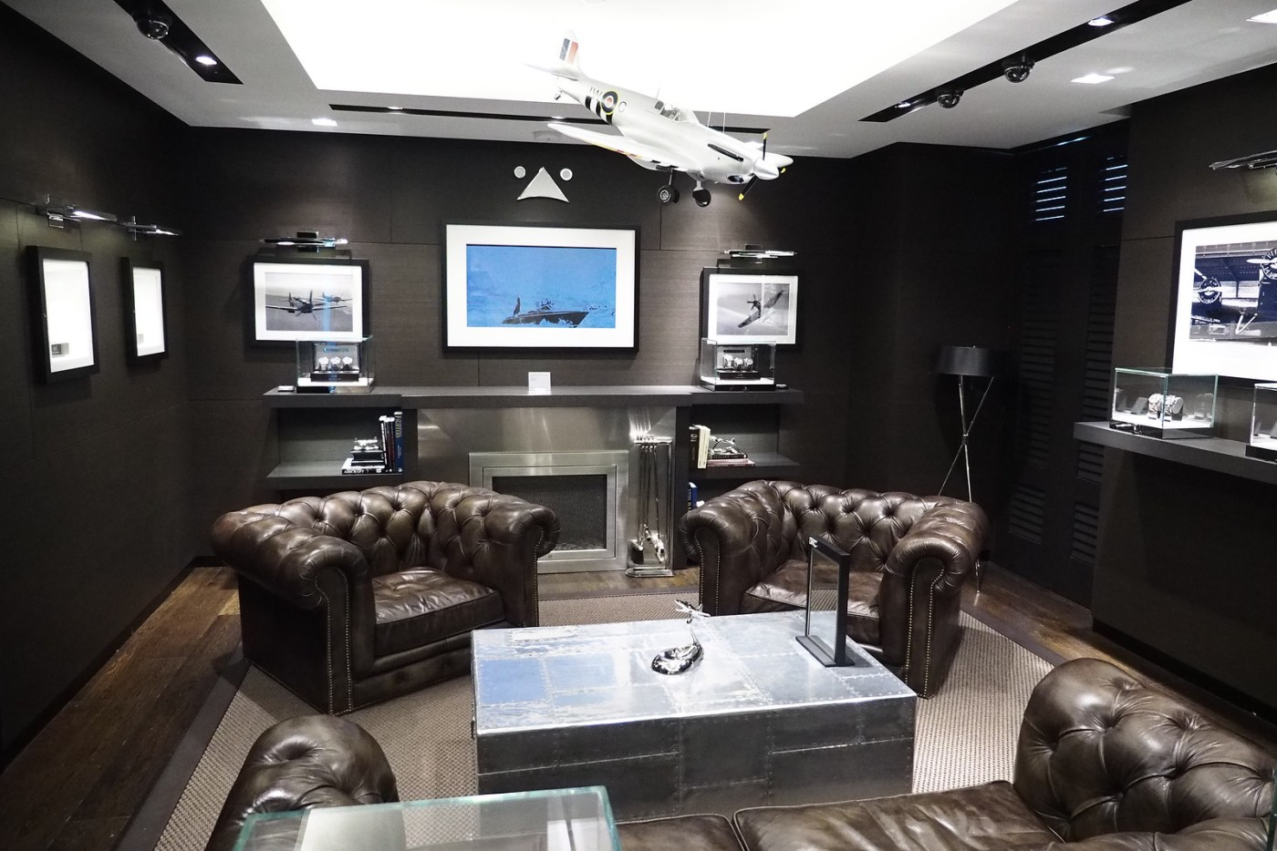 IWC Pilot Lounge at 535 Madison Avenue