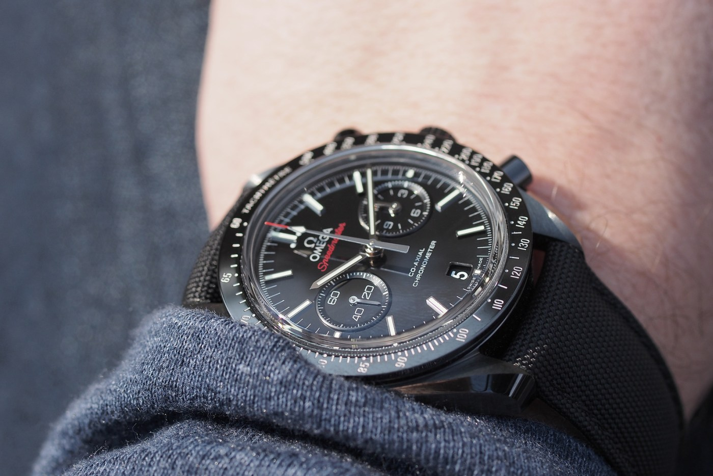 "Omega Speedmaster ""Dark Side of the Moon"""