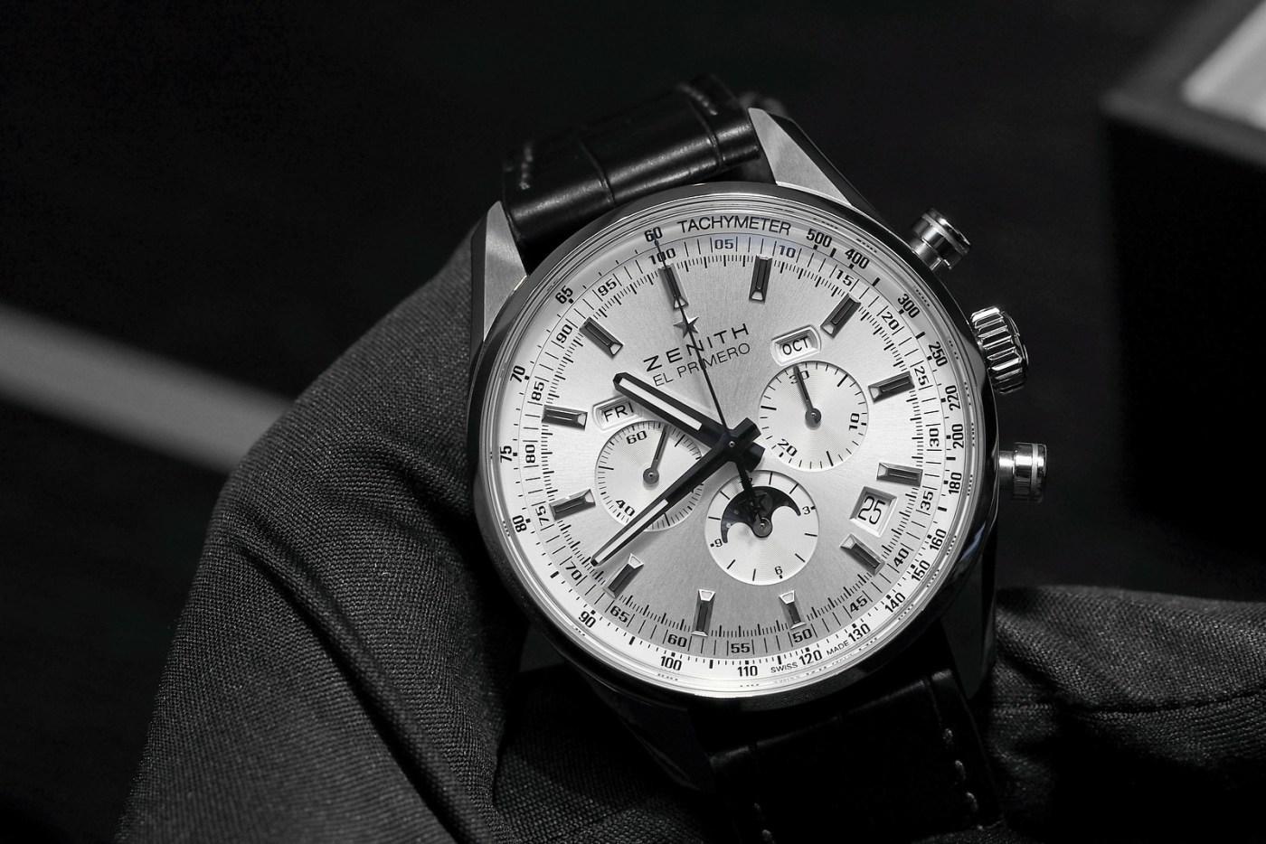 Zenith El Primero 410 Triple Calendar Chronograph and Moon Phase