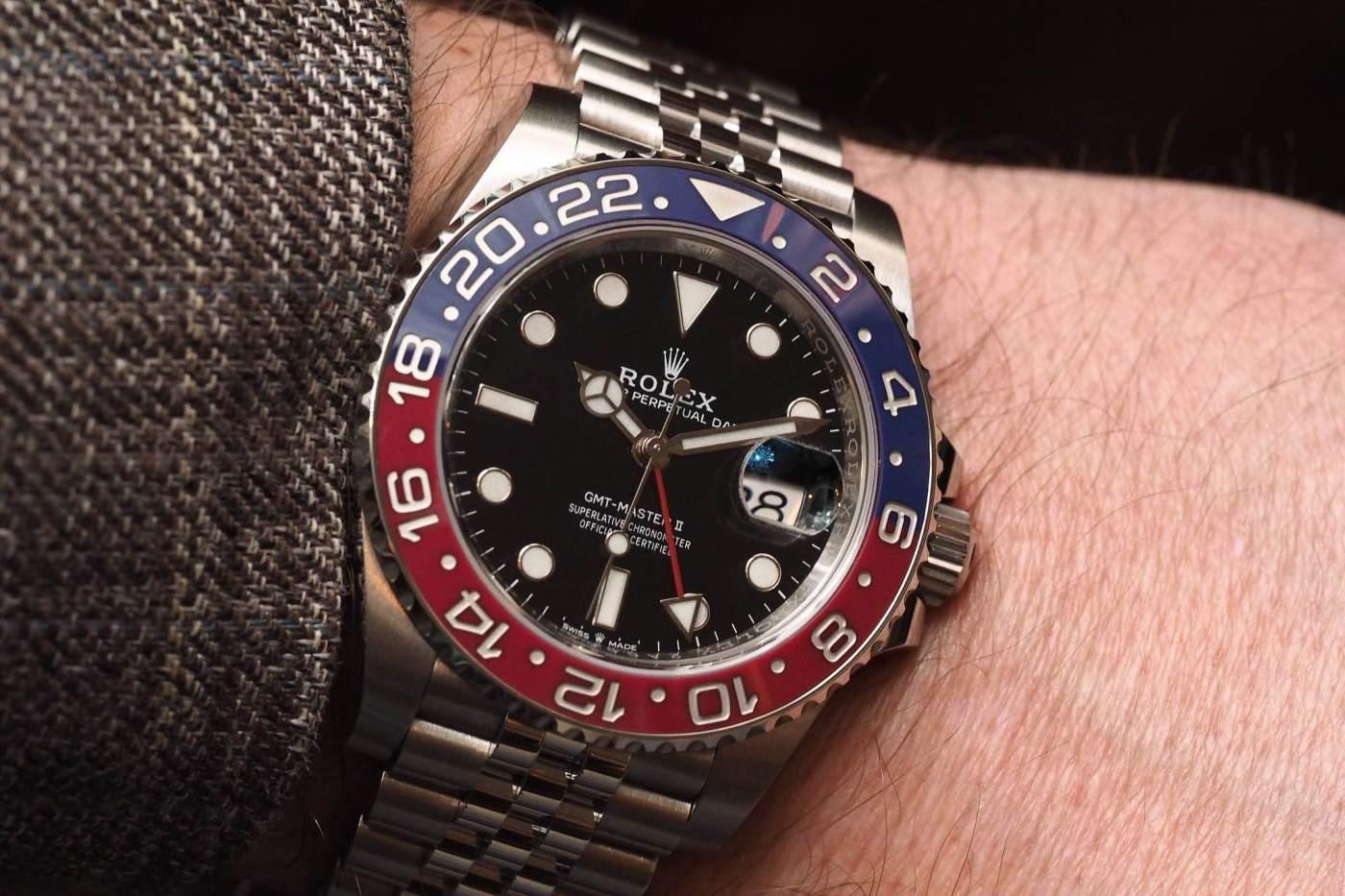 Rolex GMT-Master II Ref 126710BLRO