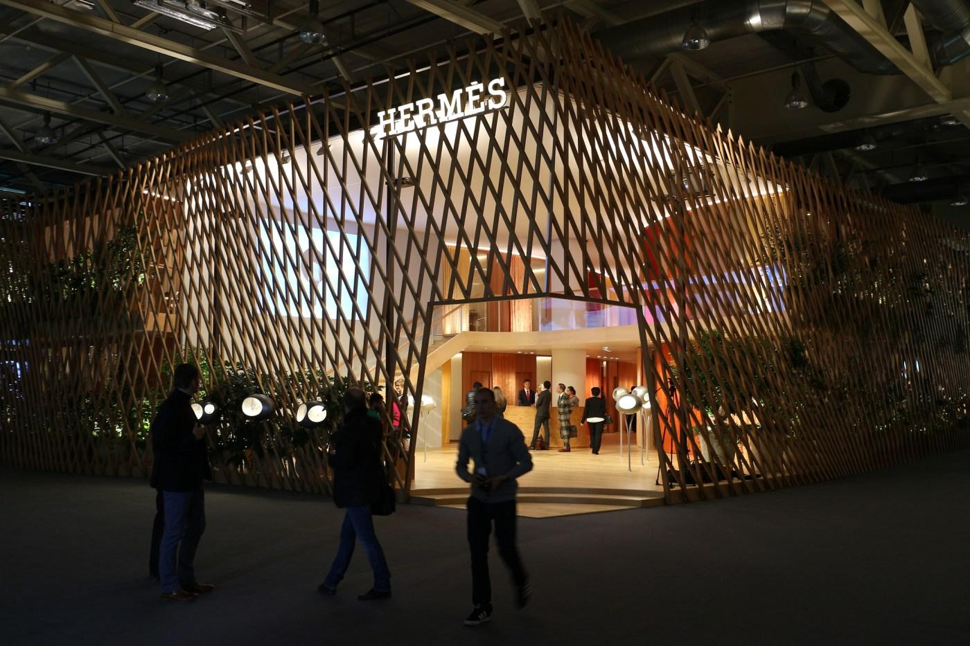 Hermes Baselworld booth